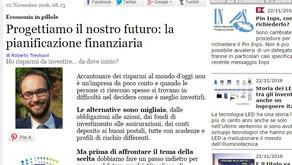 Progettiamo il nostro futuro: la pianificazione finanziaria