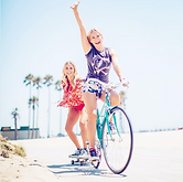 Brittany and Cynthia Daniel in Venice