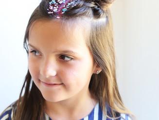 CREATIVE SUMMER HAIRDOS FOR KIDS