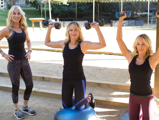 THREE COMPOUND WORKOUTS WITH JULIE DIAMOND