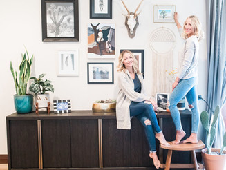 HOW TO STYLE A COLLAGE WALL