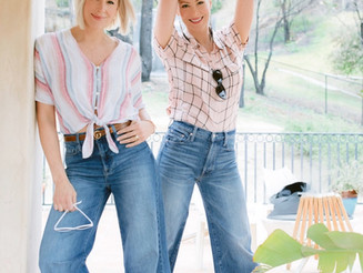 Why High Waisted and Wide-Leg Jeans are a must have this season.