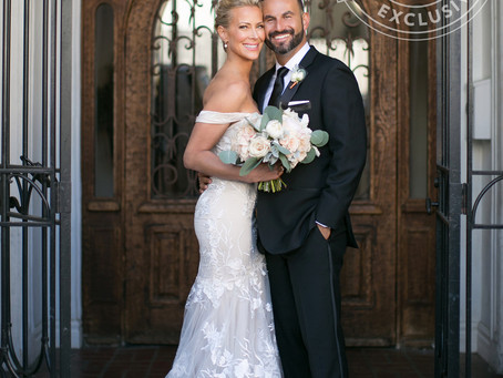 PEOPLE MAGAZINE FEATURES BRITT + ADAM'S WEDDING