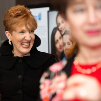 Linda O laughs at our Awards night