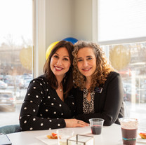 Agents Stephanie Saunders and Michelle Soucy at our Andover Launch Party