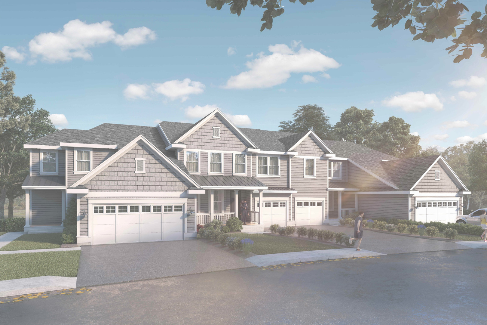 Lexington Meadows computerized rendering of home