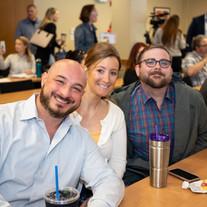 The Digiorgio Team at an All Company Meeting