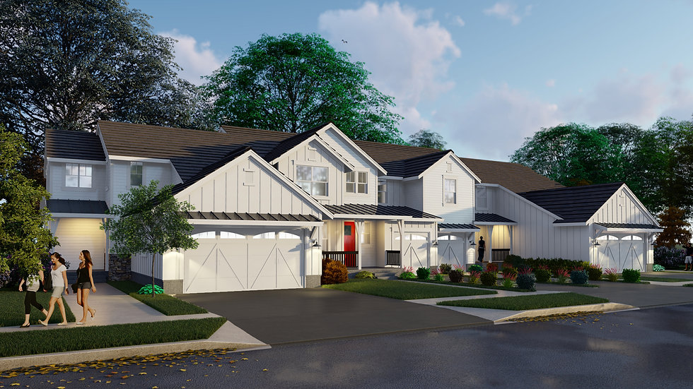 Rendering of Lexington's newest project, Lexington Meadows