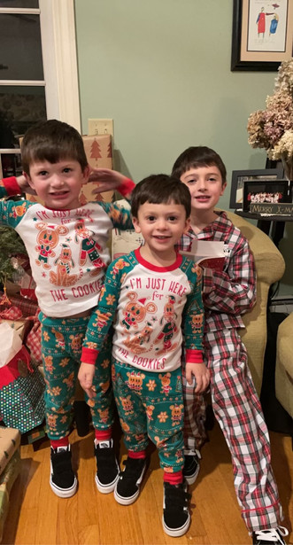 Danielle's sons