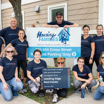 Our Staff volunteers for a day at Housing Families in Malden