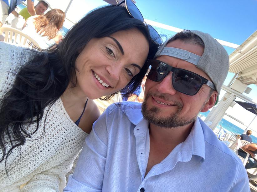 Jessica and her husband