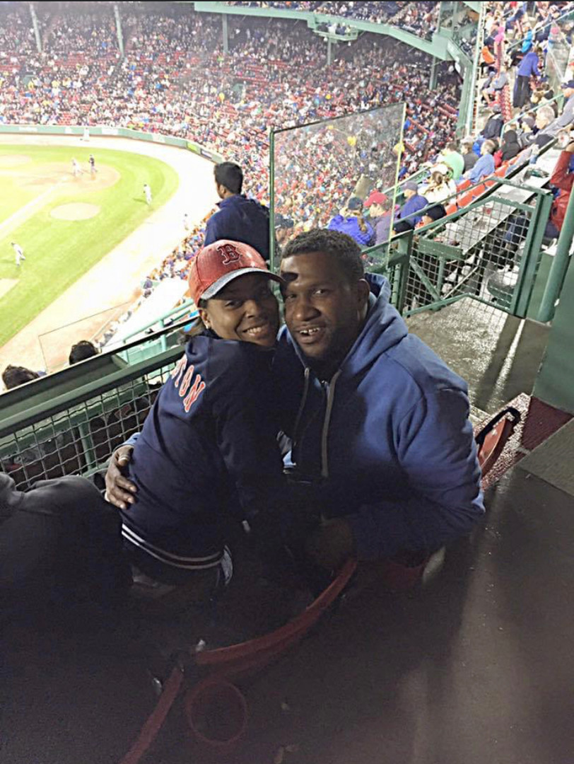 Jamila at Fenway Park