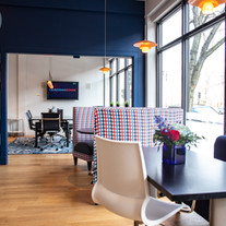 The front cafe of our Melrose Office
