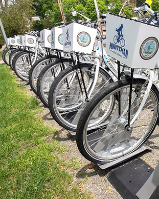 Downton Lexington bike share