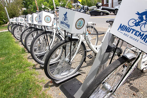 Lexington MA bike share