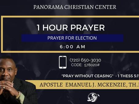 Prayer For The Election-Apostle Emanuel J. McKenzie