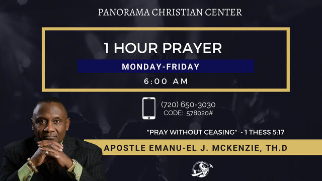 COVENANT WITH GOD: Apostle Emanu-el J. McKenzie
