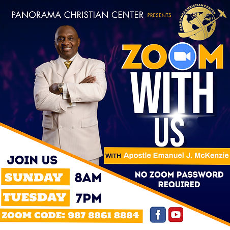 Copy of ZOOM BIBLE STUDY FLYER - Made wi
