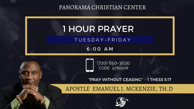 Prayer Is The Foundation: Apostle Emanu-el J. McKenzie