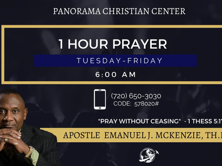 How Does God Get The Glory? -Apostle Emanuel J. McKenzie