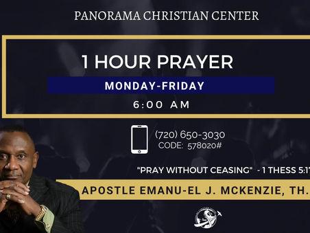 FAITH IS A MANIFESTATION OF THE RULE OF GOD ON EARTH: Apostle Emanu-el J. McKenzie