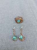Turquoise Ring and Earing set.jpg