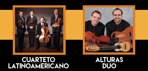 Cuarteto LatinoAmericano and AlturasDuo