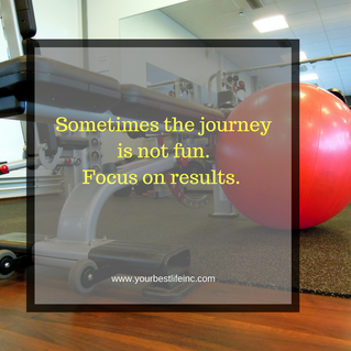 Always focus on results versus the steps to get there