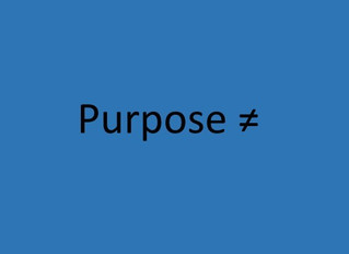 5 Biggest Misconceptions of What Purpose Means in an Organization