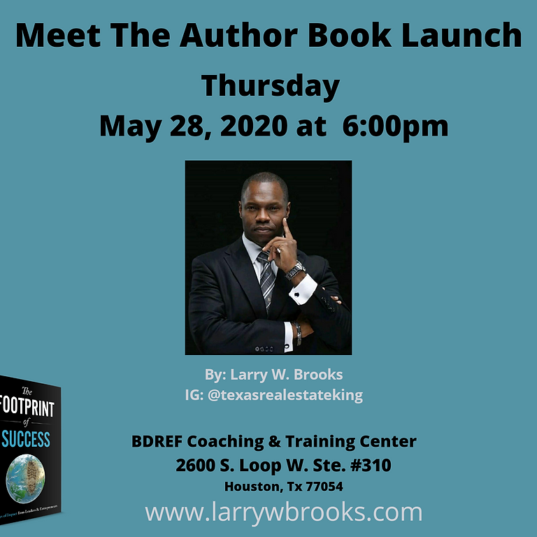Meet the Author Book Launch