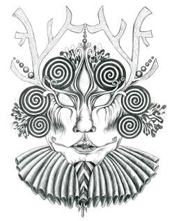 """Mystic Mischief, 2014; 11x14"""""""