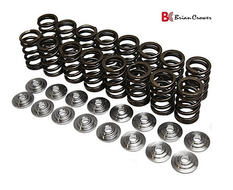 Brian Crower Honda L15B Single Spring, Titanium Retainer & Keeper Kit