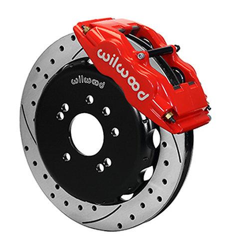Wilwood Superlite Red Big Brake Front Upgrade Kit for 89-98 Nissan 240SX S13/S14