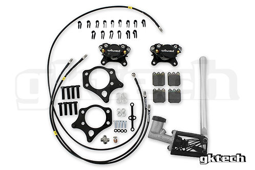 GKTECH Wilwood S-chassis dual caliper Hydraulic handbrake individual components