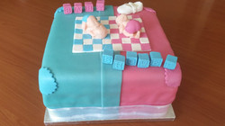 Baby Shower Taart made by Caboliciou