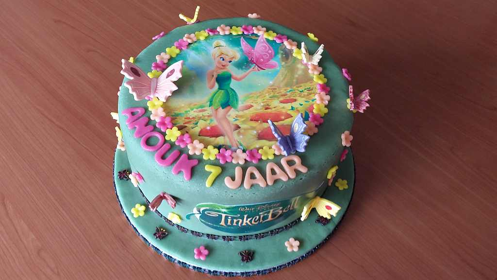 Tinkerbel taart by Cabolicous