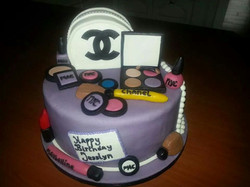 Chanel taart made by Cabolicious