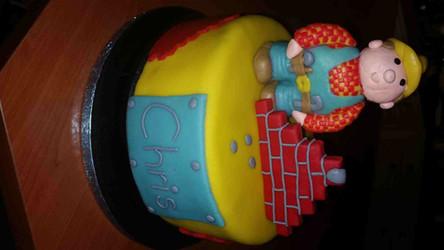 Bob de Bouwer taart made by Cabolcio