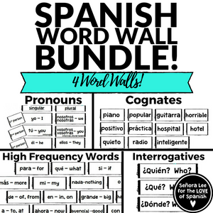 spanish word walls