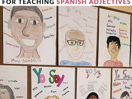 5 Fun Activities for Teaching Spanish Adjectives