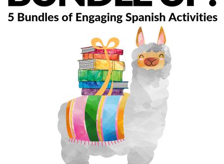 Bundle Up! 5 Bundles of Engaging Spanish Activities