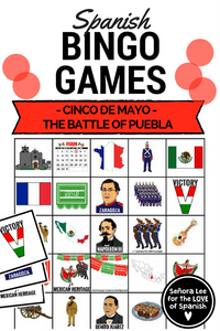 spanish cinco de mayo bingo