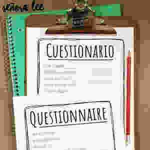 Spanish Questionnaire Activity