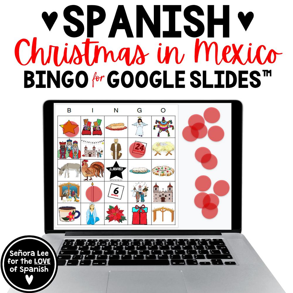 Spanish Digital Bingo Game
