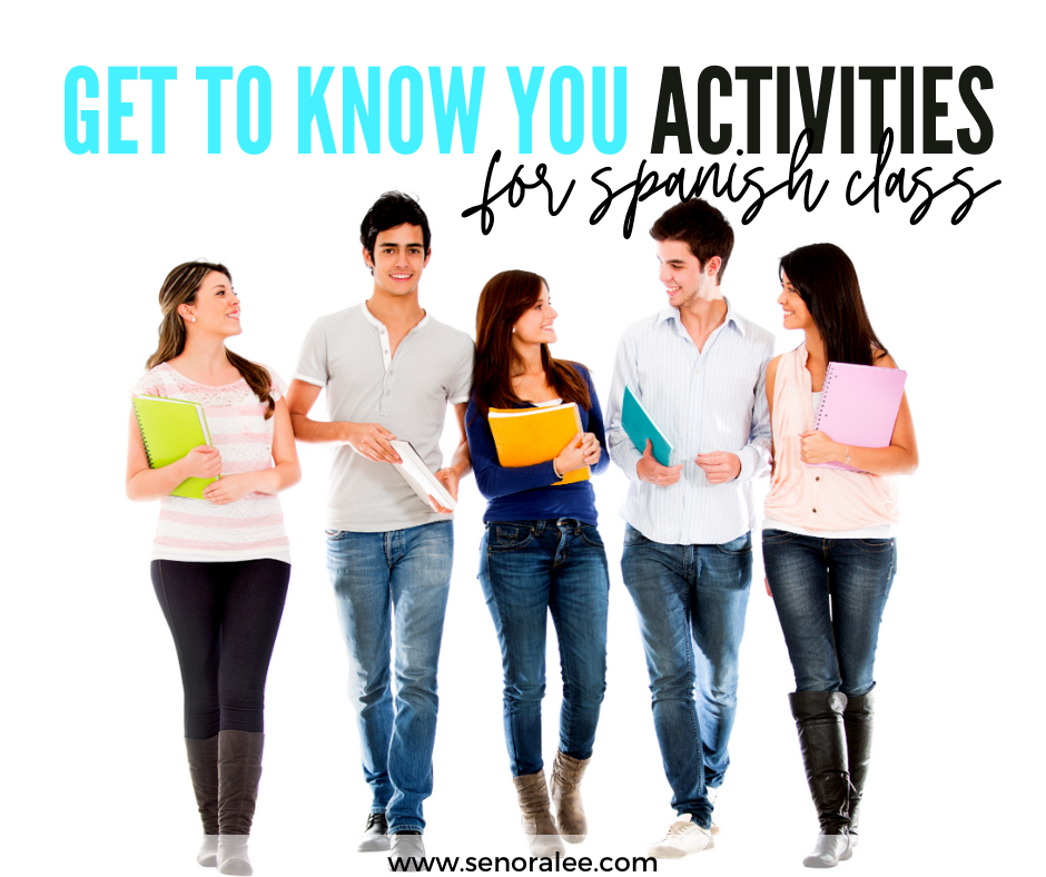 Spanish Get to Know You Activities