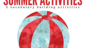 Summer Activities for Spanish class