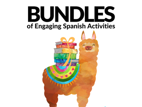 Bundles of Engaging Spanish Activities