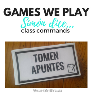 Games for Spanish Class