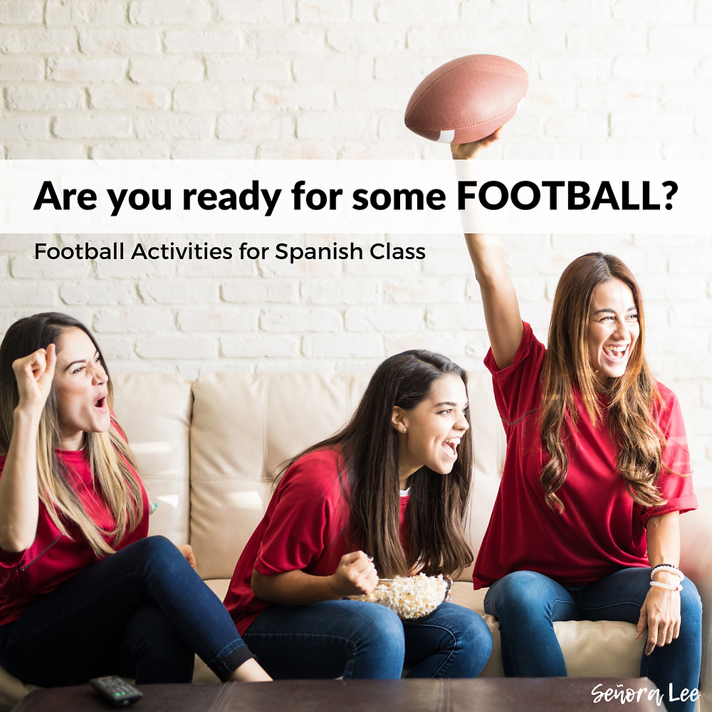 Football Activities for Spanish Class