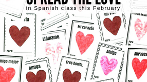 Spanish Valentine's Day Activities